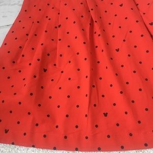 Oh my Disney skater Mickey red skirt Final Price